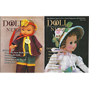"2 UFDC ""Doll News "" Magazines on Nancy Ann"