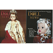 "2  UFDC Magazines ""Doll News"""