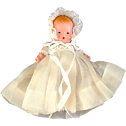 "Nancy Ann Story Book Baby  ""Short Dress & Bonnet"""