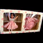 "Nancy Ann Storybook ""Diana & Her Wardrobe"" Hard Plastic Gift Set"