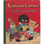 """1946 Book """" Sunshine Corner Picture and Storybook"""""""