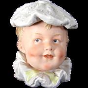 "5"" Large Gebruder Heubach  Baby Face "" Humidor/Candy Box"""
