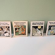 Miniature Paper Books by Thornton Burgess so Charming!