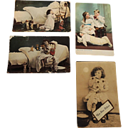 Old Post Cards with Dolls and Children * TLC