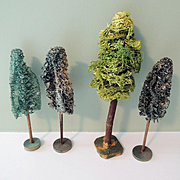 Miniature Trees for Christmas Display or Model Train