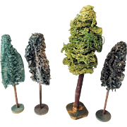 Miniature Trees for Christmas Display or Model Trains