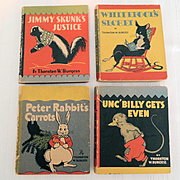 Thornton Burgess Miniature Animal Story Books