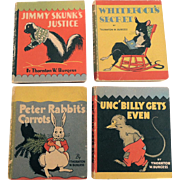 Thornton Burgess Miniature Animal Story Books