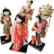 Asian Doll Group from 1970's * Japan China