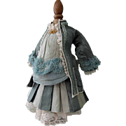 Gorgeous Custom Made Two Piece Bebe Dress for Steiner Jumeau