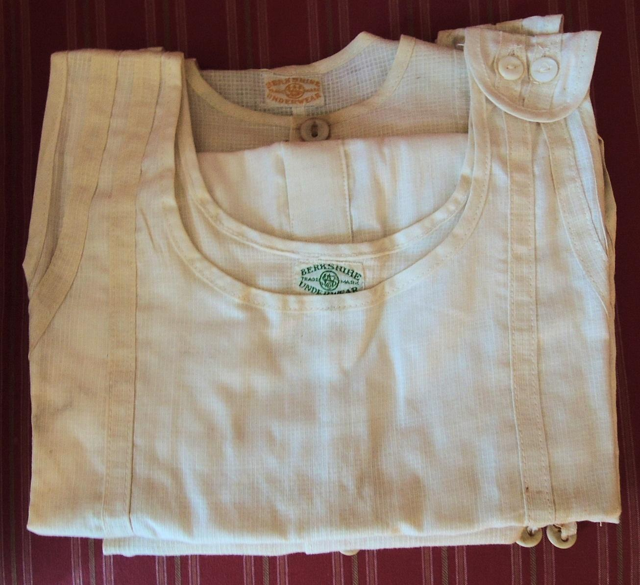 Four Old Store Stock Berkshire Childrens Union Suits with Original Box