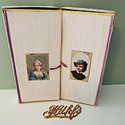 Lovely Decorative Double Box Perfect for Holding Small Dolls