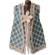 Lovely Hand Made Blue Dress for Mignonette or Other Small Dolls
