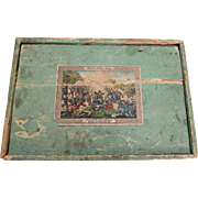 "German Toy Soldier Box ""Battle Of Weissenburg"""