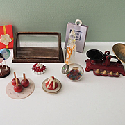 Vintage Doll House Candy Shop Miniatures ~ Sweet!