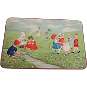 Candy Box with Adorable Children Playing and Dancing