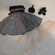 Fifties Fashion-Type Doll Dress & Extras