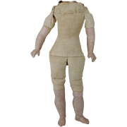 Early Cloth & Composition Doll Body * TLC