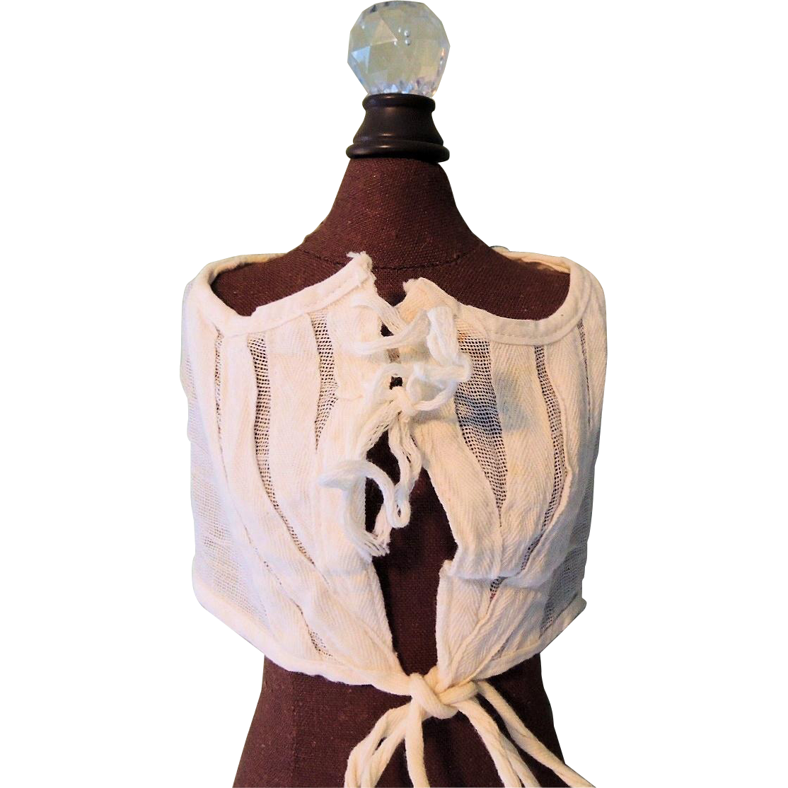 Nice Gauzy Corset Cover for German Doll