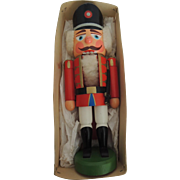 German Decorative Holiday Nut Cracker In Original Box