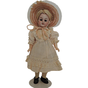German DEP 1079 S H Diminutive Nine Inch Doll with Straight Wrists