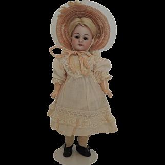 German DEP 1079 S H Diminutive Nine Inch Doll with Straight Wrists