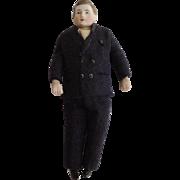 Nice Doll House Man In Original Black Suit