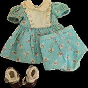 Vintage 1940's '50's Dress Panties Shoes and Socks