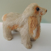 Darling Miniature Dog with Long Ears for Doll's Companion