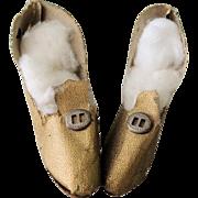 Nice Gold Heels for Boudoir Flapper Doll