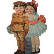 Lovely Mechanical Valentine with Military Boy and Girl