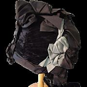 Lovely Designer Hat for Large Bisque Head Doll