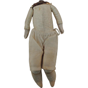 Small Old Kid & Cloth Body with Bisque Arms