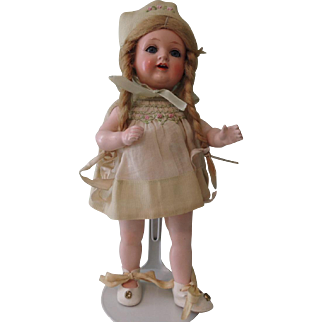 Cutest K*R 8 Inch 728 Celluloid Head Toddler Character with Great Outfit