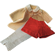 Darling German Kathe Kruse Type Clothing for Slim Body