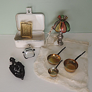 Various Vintage Doll House Miniatures