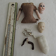 Doll Parts and Pieces for Repair
