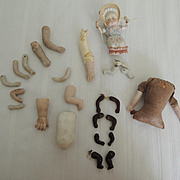 Parts and Pieces for Bisque Doll Repair * Swinger