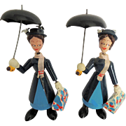 Mary Poppins Nodders Bobble Heads Dolls