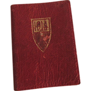 "Sweet Miniature ""Little Red Book"" 1914"