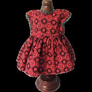 Pretty Dark Red Vogue Mystery Ginny Dress