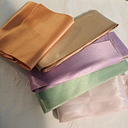 Vintage Wide Satin Ribbon In Various Lovely Colors