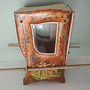 Lovely French Sedan Chair Perfect for Mignonettes and All Bisque Dolls