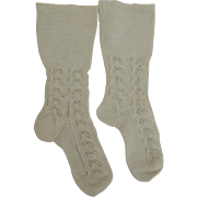 Lovely Large Woven Doll Socks
