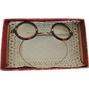 Miniature Doll Eye Glasses Spectacles In Original Box