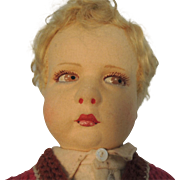 "Lenci Italian Pouty  ""Sweater Boy"" 300 Series 16.5 Inches"