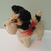 Cutest Miniature Terrier Dog for Doll's Companion