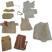 Tiny Clothes Bits and Pieces for All Bisque Dolls TLC