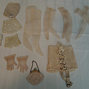 Corsets, Purse, Gloves for Vintage 1950-1960 Fashion-Type Dolls