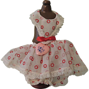 "Rare Vogue Ginnette ""Valentine Special"" Promotional Dress 1956"
